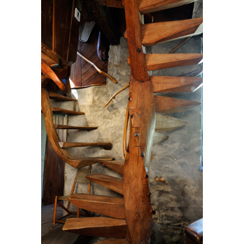 That Staircase Lives In My Mind And Is A Great Inspiration, I Also Have A  Large Photo Of It Framed On The Wall. The Story Told At The Esherick Museum  Was ...