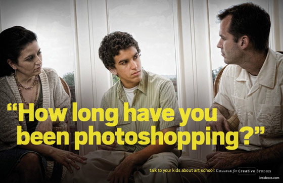 How long have you been Photoshopping?