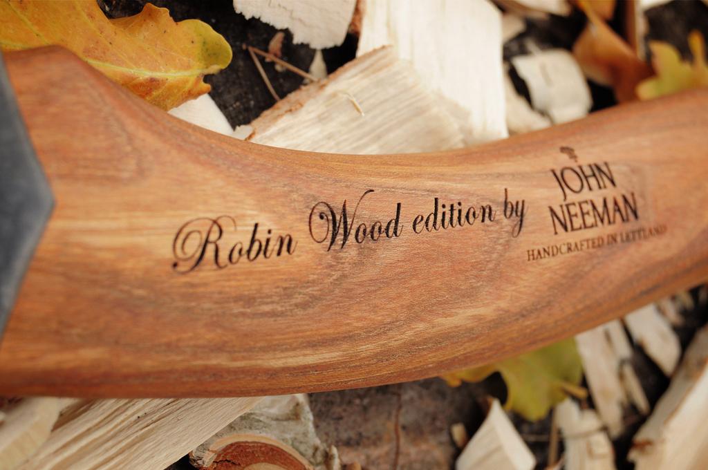 John Neeman Carving Axe Robin Wood Edition