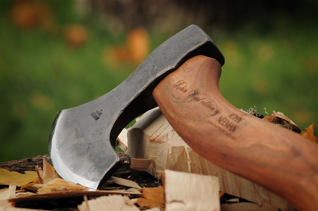 wood carving axe