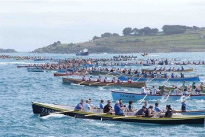 The start of the mens from St Agnes