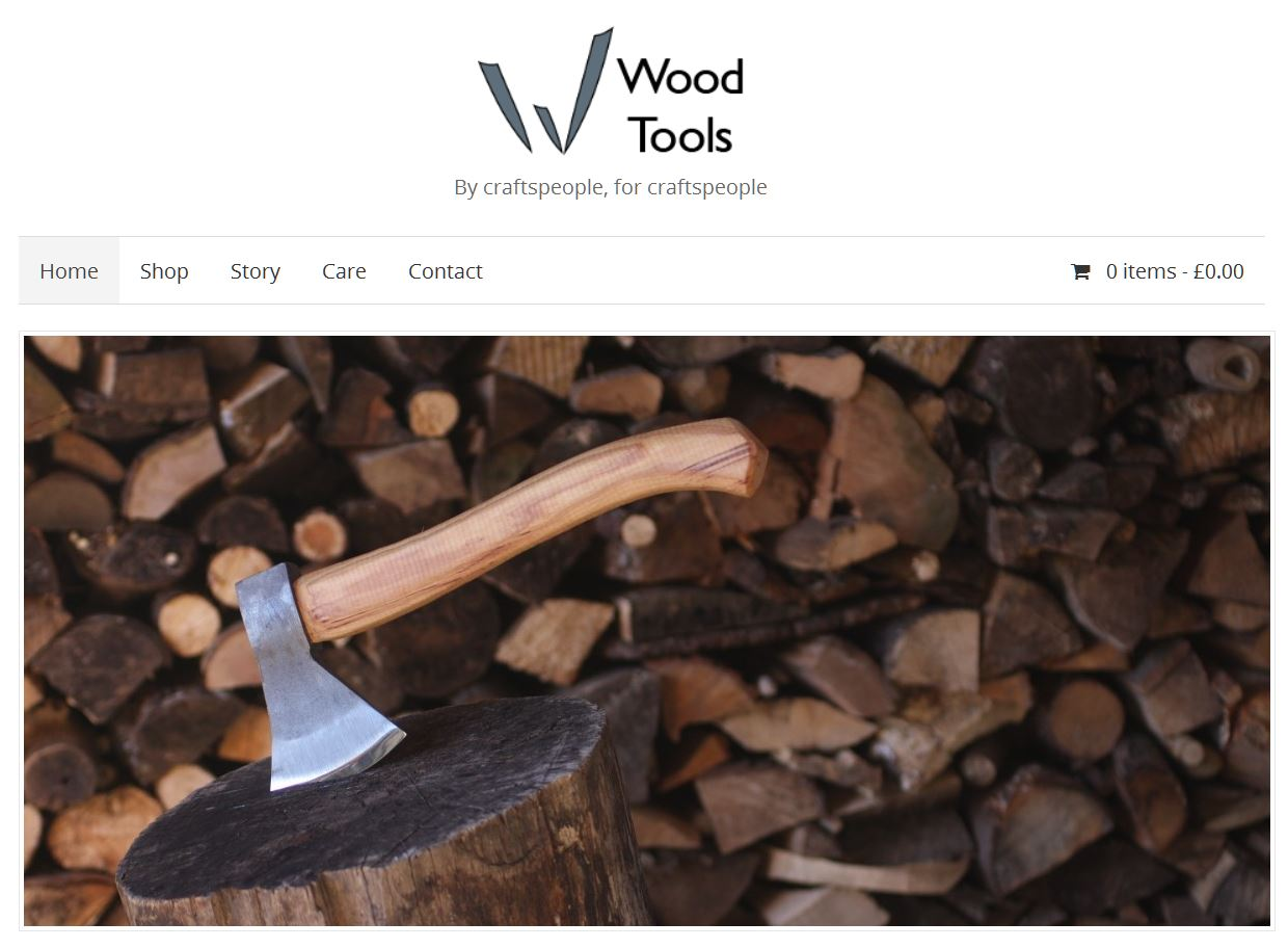 Wood Tools website