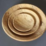 nest of bowls made by robin wood