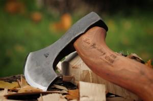 robin wood neeman carving axe